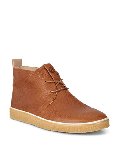 Ecco Crepetray Leather Chukka Boots-BEIGE-EU 41/US 8