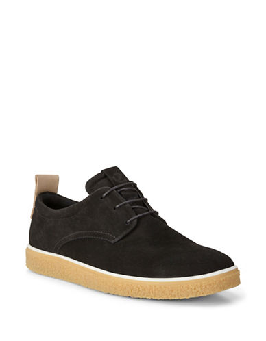 Ecco Crepetray Leather Oxfords-BLACK-EU 41/US 8