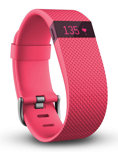Fitbit Charge HR Wireless Activity Wristband-PINK-Large 88357279_PINK_Large