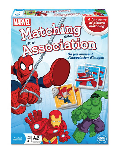 Kroeger Marvel - Matching Game-MULTI-One Size