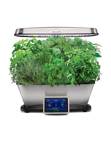 Aerogrow International Inc Bounty Elite with Gourmet Herbs Seed Pod Kit-STAINLESS STEEL-One Size
