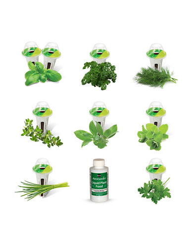Aerogrow International Inc AeroGarden Gourmet Herbs Seed 9-Pod Refill Kit-NO COLOUR-One Size