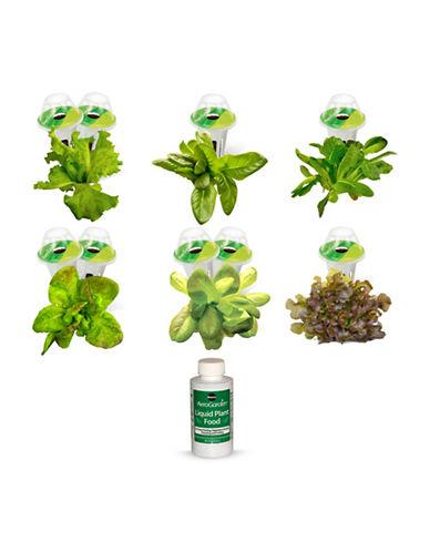 Aerogrow International Inc AeroGarden Heirloom Salad Greens Seed Kit 9-Pod Refill Kit-NO COLOUR-One Size