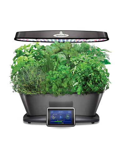 Aerogrow International Inc Aerogarden Bounty Elite with Gourmet Herbs Seed Pod Kit-PLATINUM-One Size