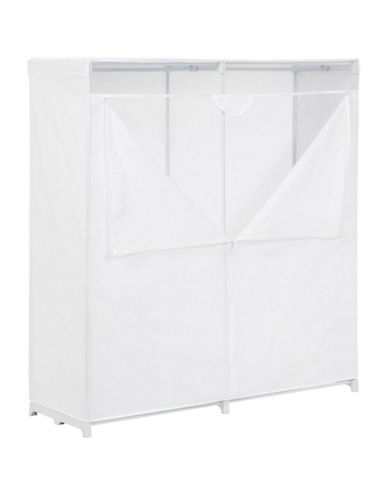 Honey Can Do 60-Inch Storage Closet-WHITE-One Size