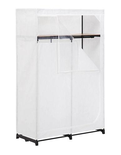 Honey Can Do 46 -Inch Storage Wardrobe-WHITE-One Size