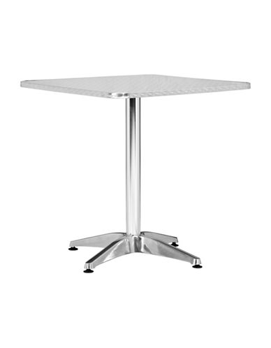 Zuo Modern Christabel Square Table-SILVER-One Size