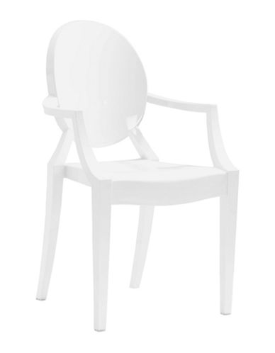 Zuo Modern Four-Pack Anime Dining Chair  Set-WHITE-One Size