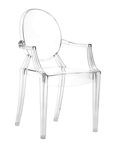 Zuo Modern Four-Pack Anime Dining Chair  Set-CLEAR-One Size