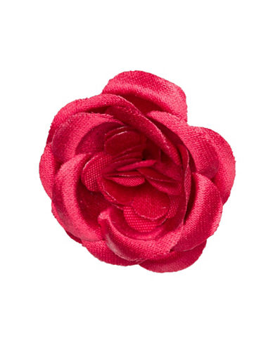 Hook + Albert Lapel Flower-RED-One Size