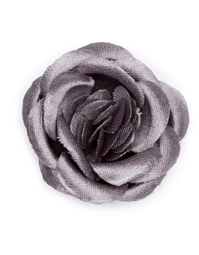 Hook + Albert Smokey Lapel Flower-GREY-One Size