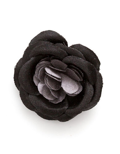 Hook + Albert Benedict Lapel Flower-BLACK-One Size