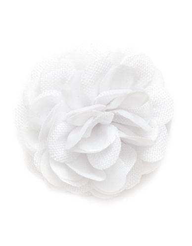 Hook + Albert Hawkeye Lapel Flower-WHITE-One Size