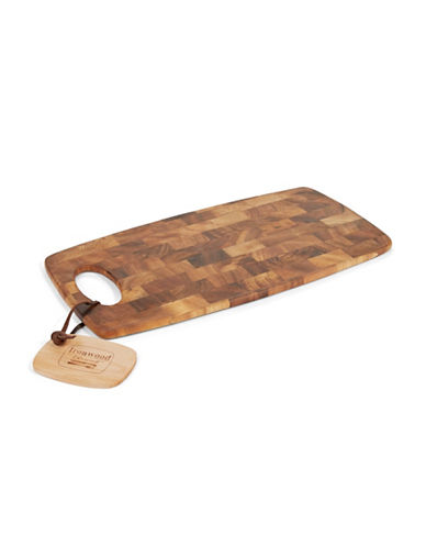 Fox Run End Grain Prep Board-BROWN-One Size