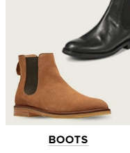 Brown suede Chelsea boots for men at thebay.com.