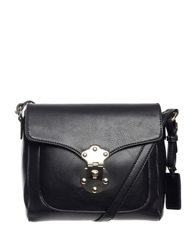 Hush Puppies Chila Crossbody Bag-BLACK-One Size