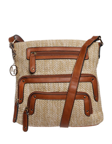La Diva Cassandra Crossbody Bag-NATURAL-One Size