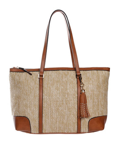 La Diva Sage Shoulder Bag-BEIGE-One Size