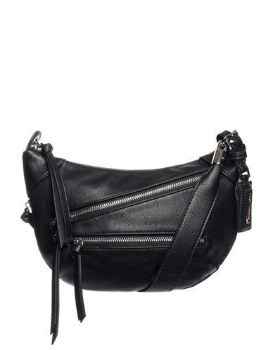 Hush Puppies Bett Crossbody Bag-BLACK-One Size