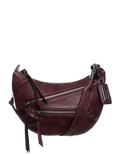 Hush Puppies Bett Crossbody Bag-BORDEAUX-One Size
