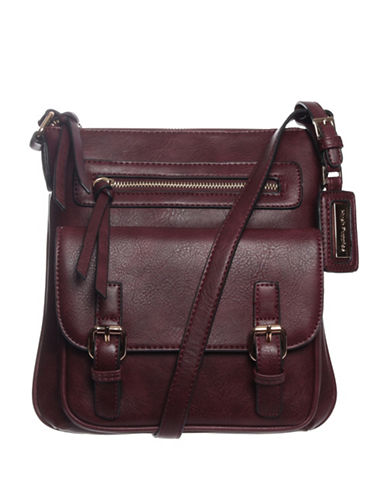 Hush Puppies Maisie Crossbody Bag-BORDEAUX-One Size