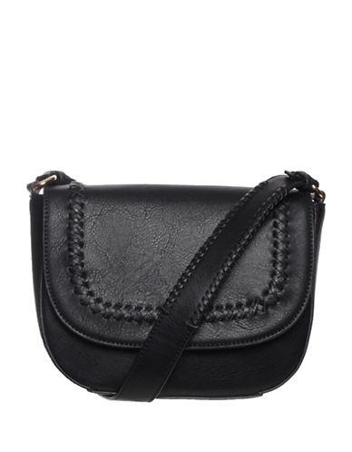 La Diva Piper Crossbody Bag-BLACK-One Size