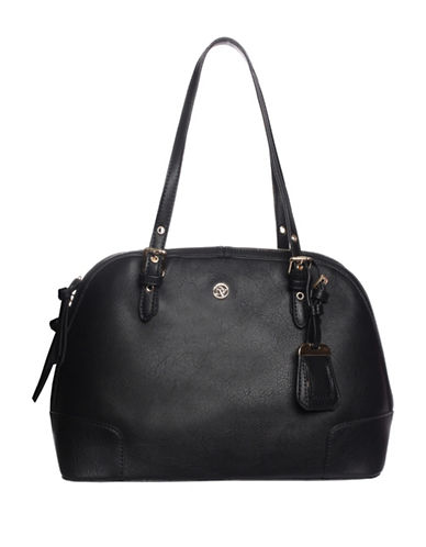 La Diva Rose Shoulder Bag-BLACK-One Size