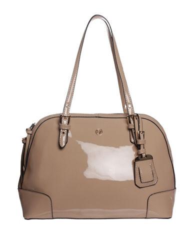 La Diva Rose Shoulder Bag-TAUPE PATENT-One Size