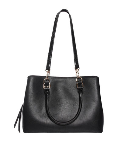 La Diva Ireland Shoulder Bag-BLACK-One Size
