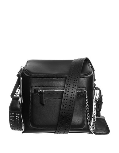 La Diva Theo Crossbody Bag-BLACK-One Size