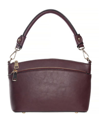 La Diva Millie Small Shoulder Bag-BORDEAUX-One Size