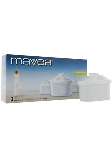 Mavea Maxtra  3 Pack Filter Cartridge-WHITE-One Size