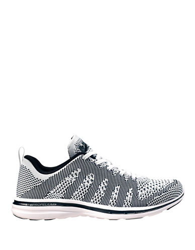 Apl Womens TechLoom Pro Running Shoes-WHITE/GREY-7.5 88192488_WHITE/GREY_7.5