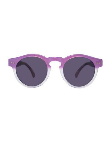 Illesteva Leonard 47mm Purple Oxford Sunglasses-PURPLE-One Size