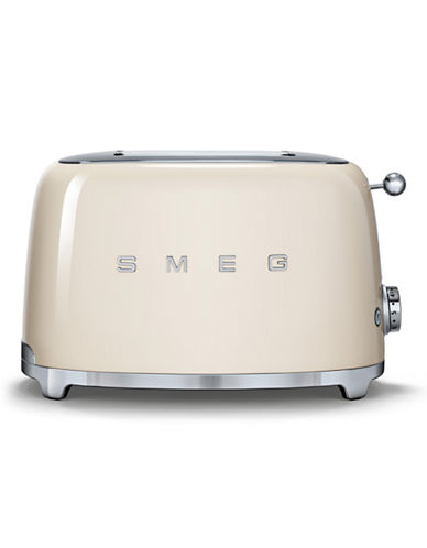 Smeg 2-Slice Toaster-CREAM-One Size