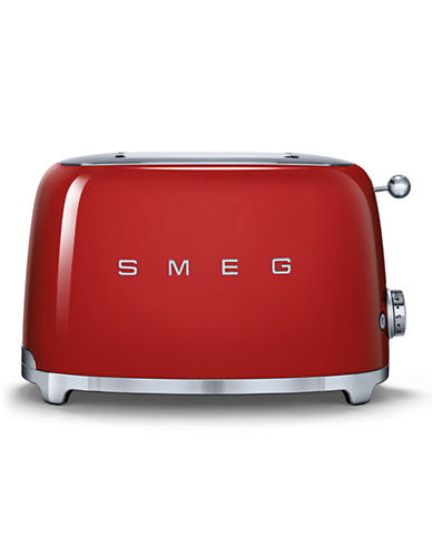 Smeg 2-Slice Toaster-RED-One Size