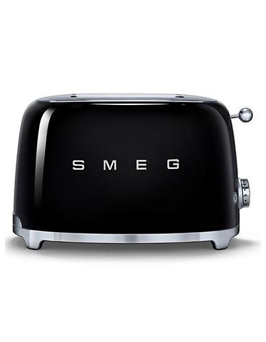 Smeg 2-Slice Toaster-BLACK-One Size