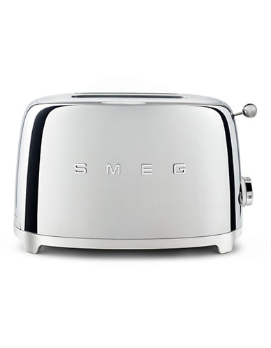 Smeg 2-Slice Toaster-CHROME-One Size