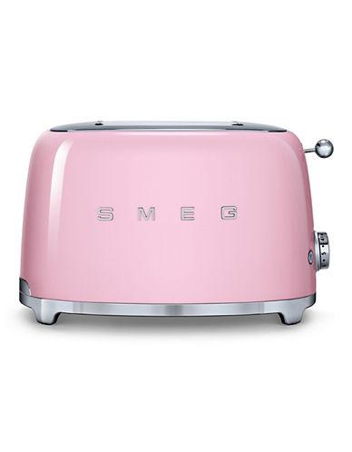 Smeg 2-Slice Toaster-PINK-One Size