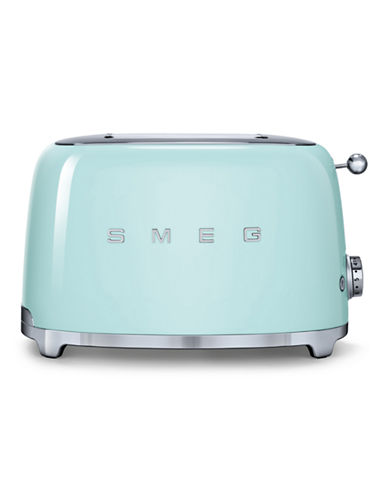 Smeg 2-Slice Toaster-PASTEL GREEN-One Size