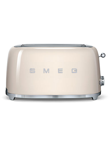 Smeg 4-Slice Toaster-CREAM-One Size