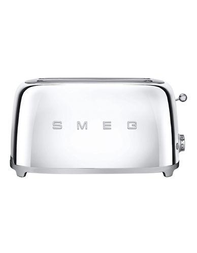 Smeg 4-Slice Toaster-SILVER-One Size