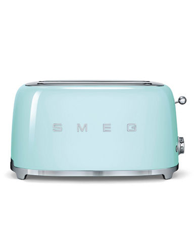 Smeg 4-Slice Toaster-PASTEL GREEN-One Size