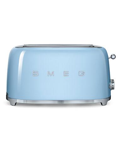 Smeg 4-Slice Toaster-PASTEL BLUE-One Size