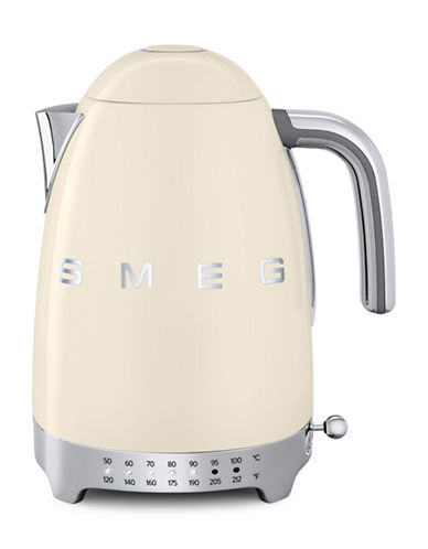 Smeg Retro-Style Variable Temperature Kettle-CREAM-One Size