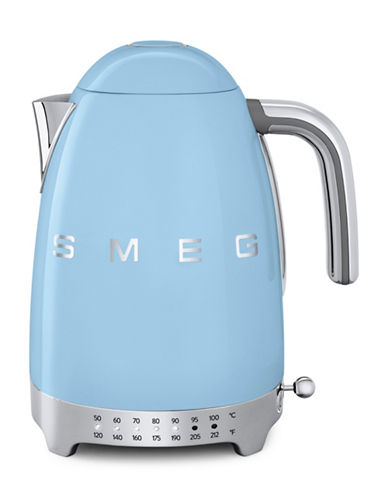 Smeg Retro-Style Variable Temperature Kettle-PASTEL BLUE-One Size