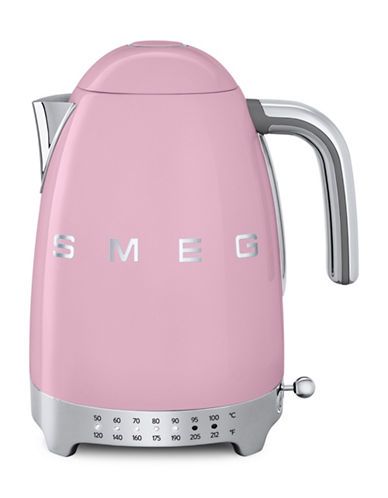 Smeg Retro-Style Variable Temperature Kettle-PINK-One Size