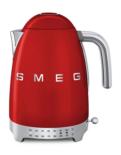 Smeg Retro-Style Variable Temperature Kettle-RED-One Size