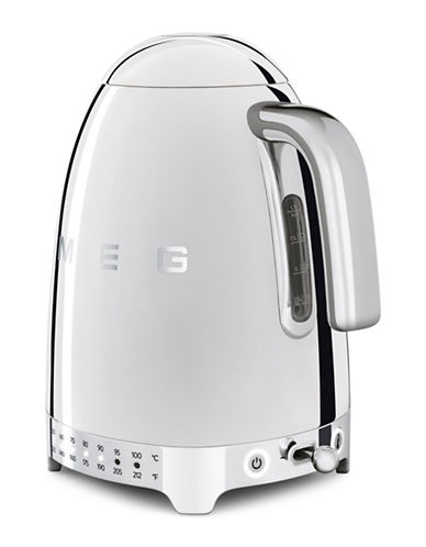 Smeg Retro-Style Variable Temperature Kettle-SILVER-One Size