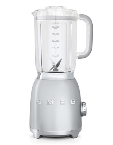 Smeg Retro 50s-Style Blender-SILVER-One Size
